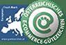 everbill ist Träger des Österreichischen E-Commerce Gütezeichens (Eurolabel)