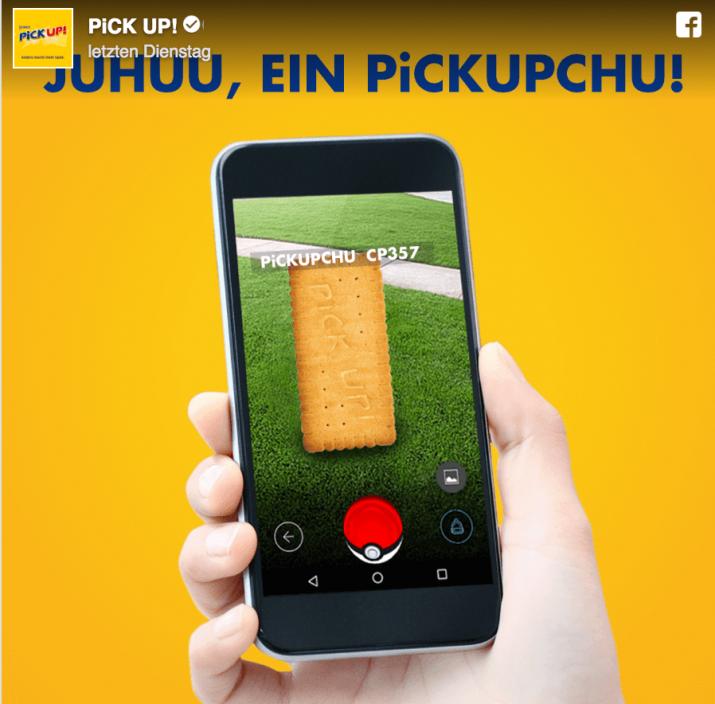 pokemon go pickup