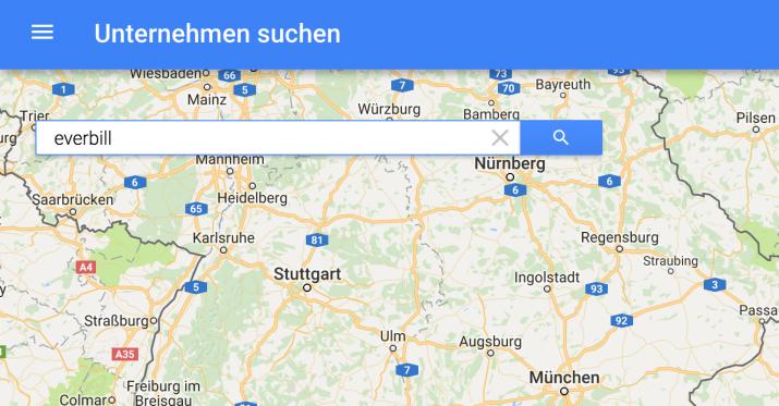 firma bei google maps eintragen