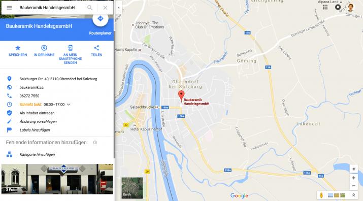 firmenprofil anpassen google my  business