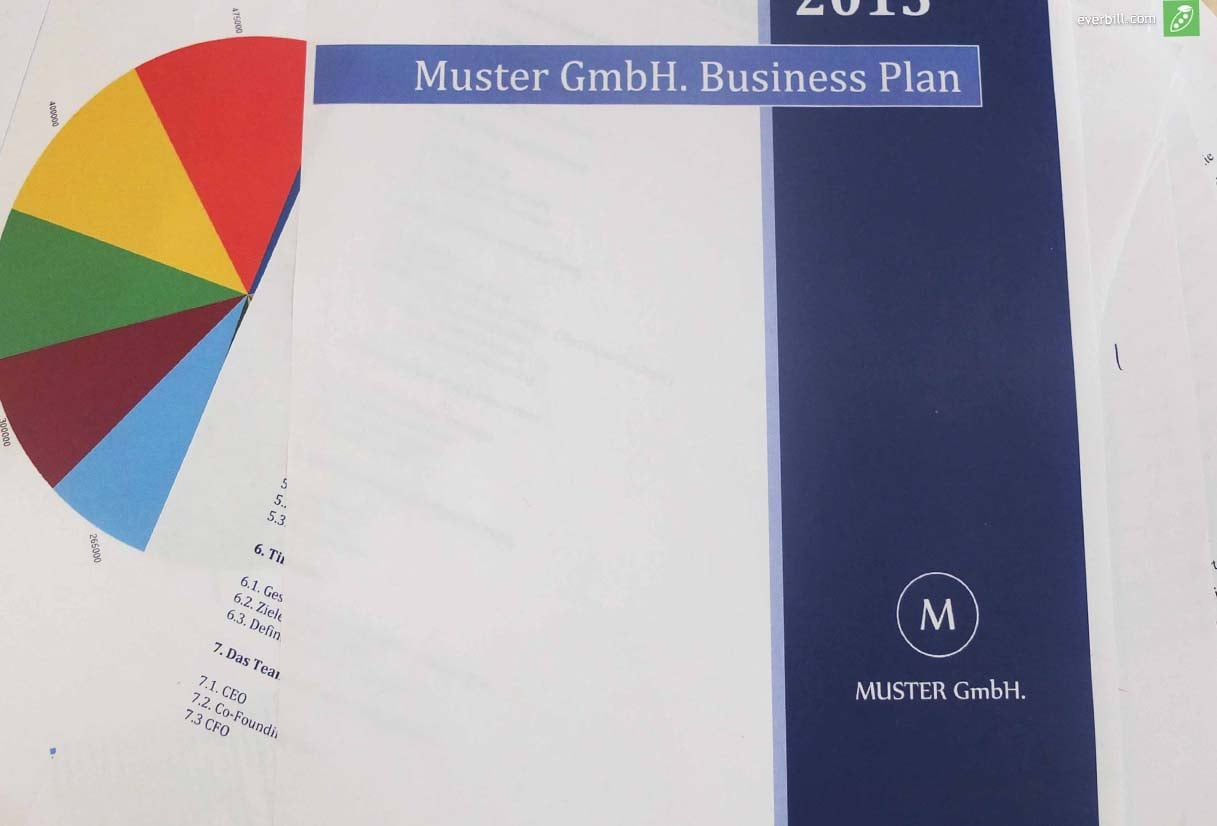business plan vorlage und muster - Businessplan Muster