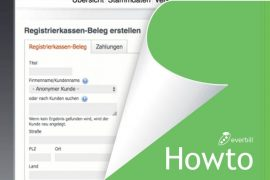 howto registrierkassa everbill