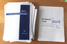 businessplan vs businesscase everbill titelbild
