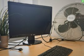 Hitze im Büro Titelbild