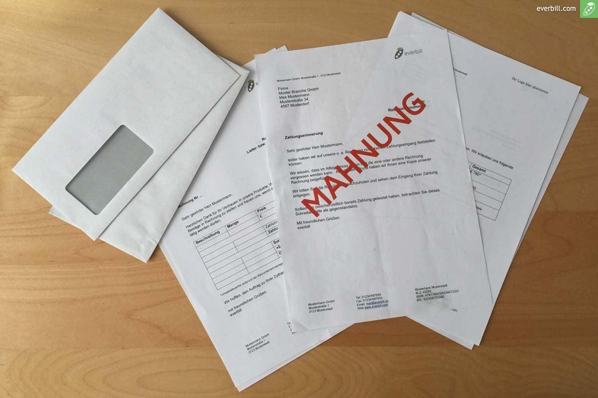 Alle Infos Zu Mahnschreiben In österreich