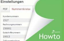 Howto: Rechnungsnummern und Nummernkreise aktualisieren