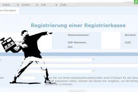 registrierkasse startbeleg finanzonline