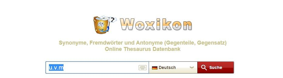 woxikon synonym